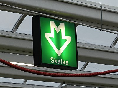 Prague, Refurbishment of Skalka Metro Station on Metro Line A