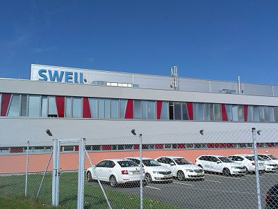 Hořice, Manufacturing Plant of Swell