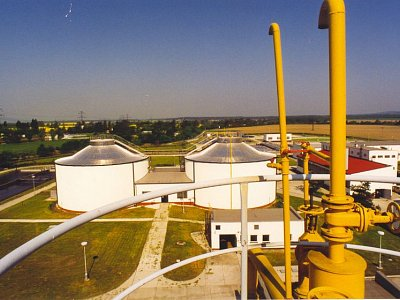 České Budějovice, Sewage treatment plant Stages II and III