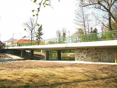 Blatná, Bridge Reconstruction
