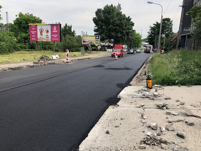 Bratislava, Works to Secure Quality of Roads