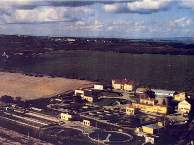 Chvaletice, Sewage treatment plant