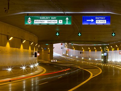 Prague, City Ring Road - Tunnel Blanka