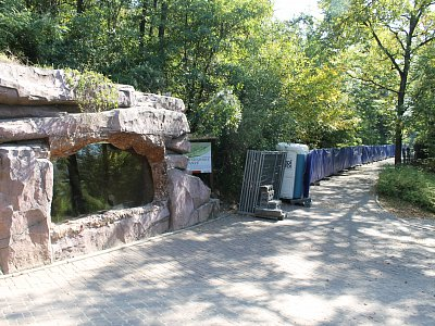 Brno, ZOO – Construction of New Outdoor Chimpanzee Exhibit