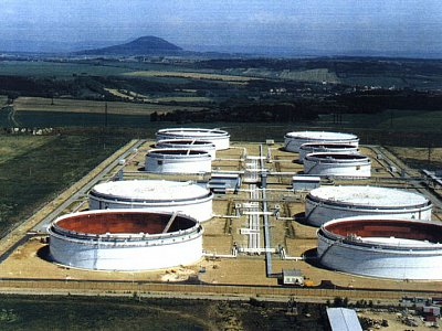 Nelahozeves, Central Tank Farm