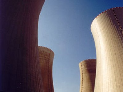 Temelín, Secondary protection of the external cladding of cooling towers in Temelín nuclear plant.