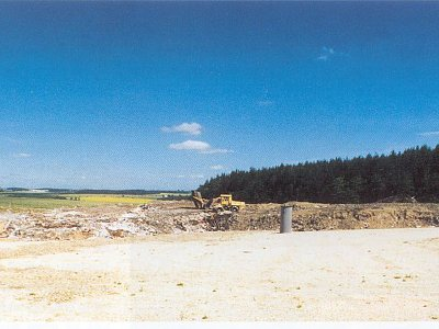 Želeč, Dump for solid municipal waste